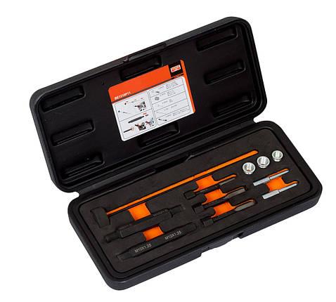 Оборудование для работы с двигателем,Glow plug thread repairing set, Bahco,BE1210P11, фото 2