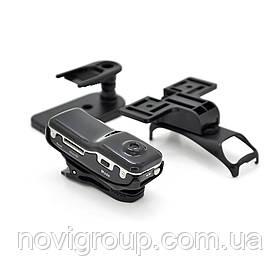 Мінівебкамера sq8, 480p, пласт. корпус, Micro SD, підтримка 16G, Black, OEM