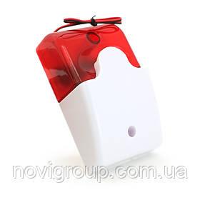 Сирена LD-95 (світло-звуковий оповіщувач) ультрояркі світлодіоди, 12 В, Q100