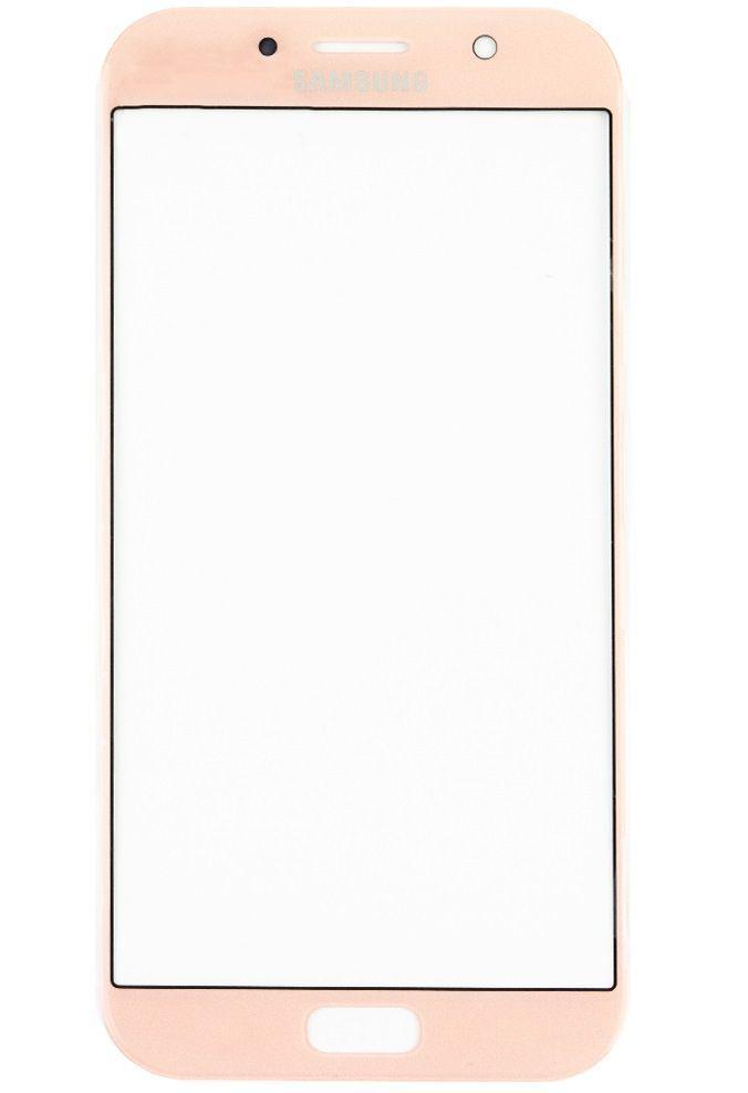 Корпусне скло дисплея Samsung Galaxy A7 A720F 2017 Pink