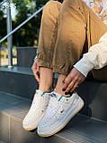Кросівки / кеди жіночі білі Найк натуральна шкіра весна-літо - осінь, фото 3