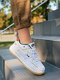 Кросівки / кеди жіночі білі Найк натуральна шкіра весна-літо - осінь, фото 2