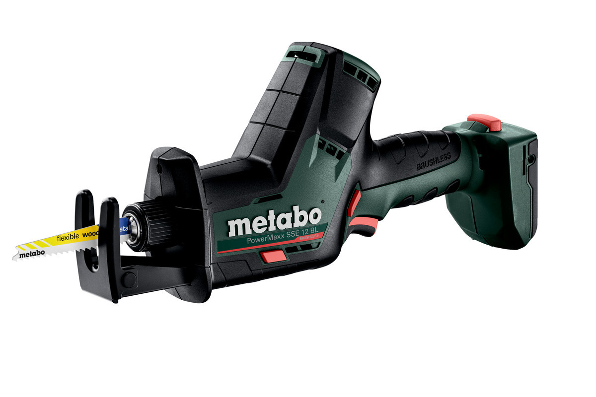 Акумуляторна шабельна пила Metabo POWERMAXX SSE 12 BL (каркас) (602322890)