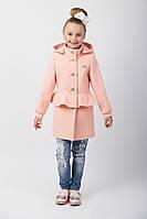 """Демисезонное пальто для девочки с капюшоном """"Баска"""""""
