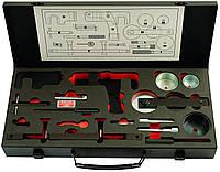 Оборудование для работы с двигателем,Набор для контроля и регулировки фаз газораспределения двигателей Renault DCI, Bahco,BE52317301