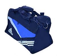 Сумка спортивная дорожная Adidas оптом 48х26х17 см.