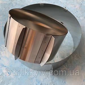 Кільце кондитерське металеве розсувне велике, розсувна форма / Кондитерское металлическое раздвижное кольцо