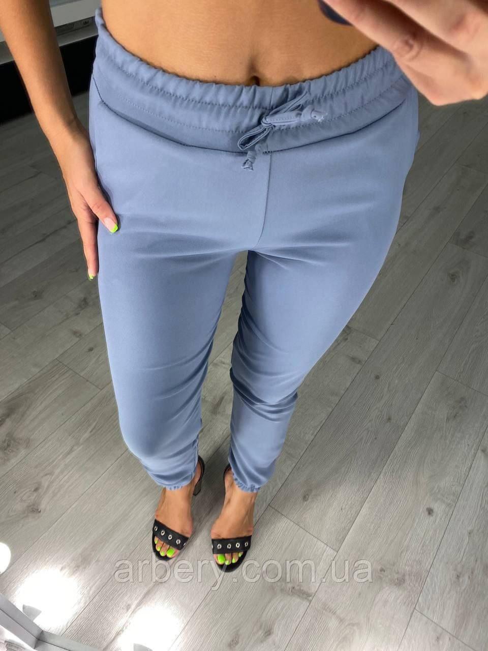 Жіночі стильні брюки-джогери