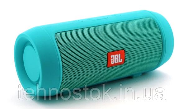 Bluetooth Колонка JBL Charger 2 Mini Green (Реплика) Гарантия 3 месяца