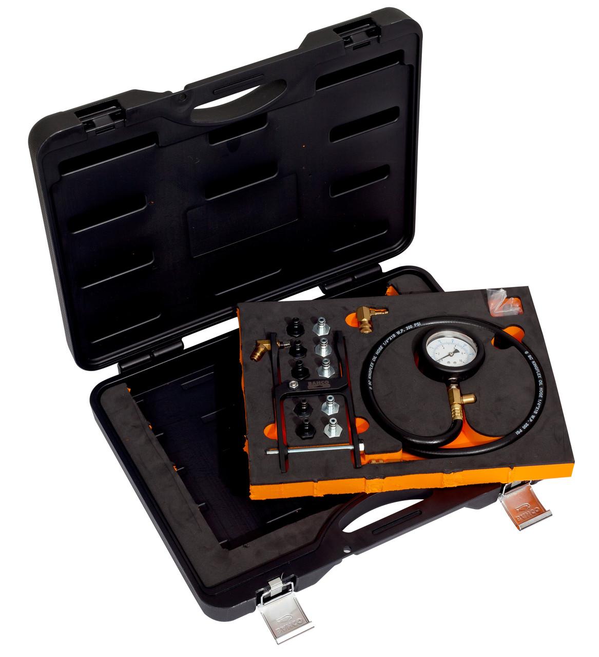 Тестер проверки давления масла в двигателе, Bahco,BE52003