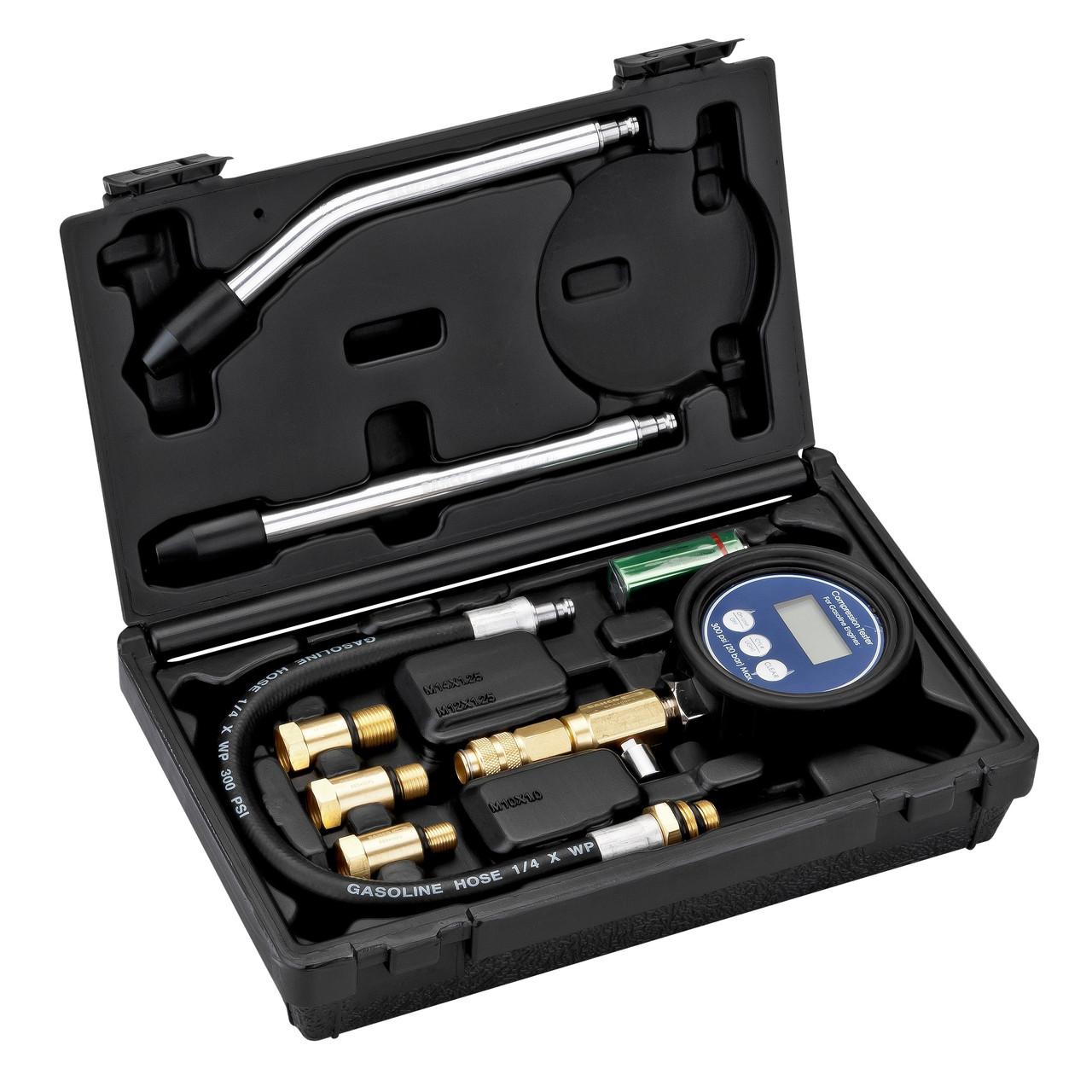 Цифровой тестер компрессора бензинового двигателя, Bahco,BE5400P