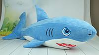 М'яка іграшка акула, плюшева акула, 95 див., фото 1
