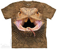 Футболка Big Face Bearded Dragon T-Shirt, Морда ящерицы