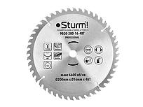 Диск пиляльний 200х16 мм 48 зубів по дереву для CS5020TB Sturm 9020-200-16-48T