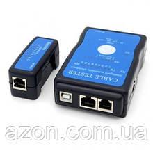 Тестер кабельний RJ-45 + USB Merlion (M726ATUSB)