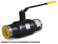 Кран кульовий LD приварний стандартнопрохідний