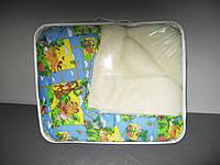 Одеяло меховое детское 140х110см, Чарівний сон (цвета в ассортименте)