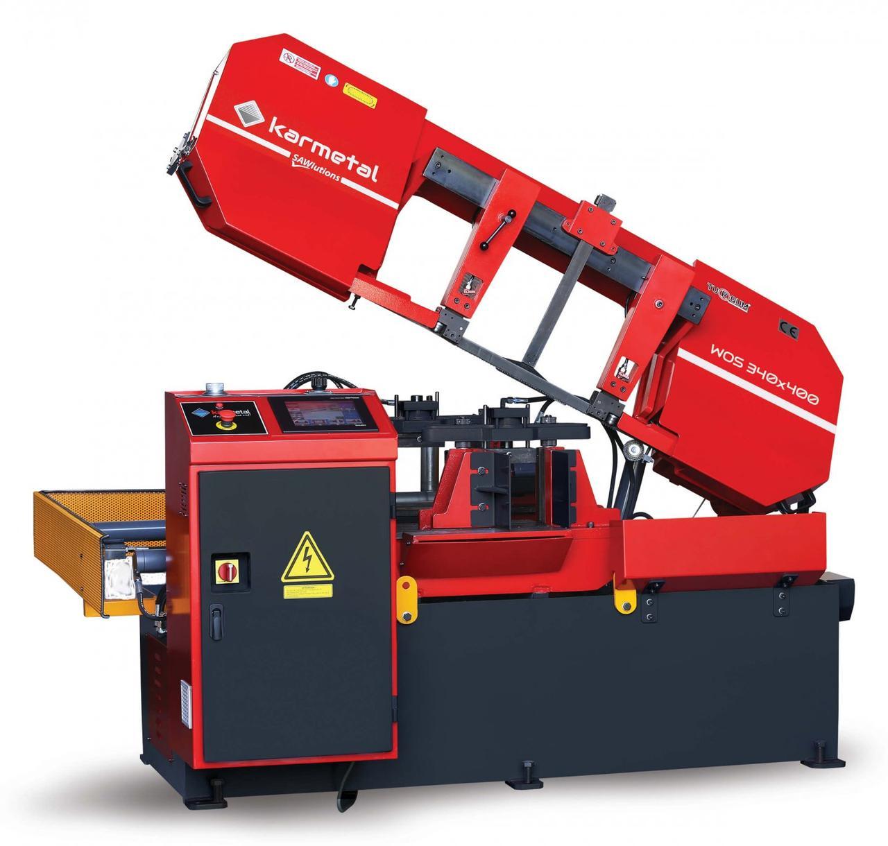 Автоматическая ленточная пила по металлу Karmetal WOS 340x400