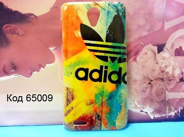 Чехол для lenovo s650 панель накладка с рисунком adidas