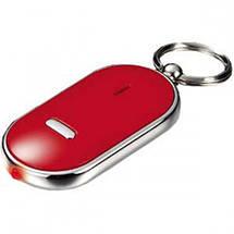 Брелок для поиска ключей и пультов управления QF-315 белый цвет с фонариком, фото 3