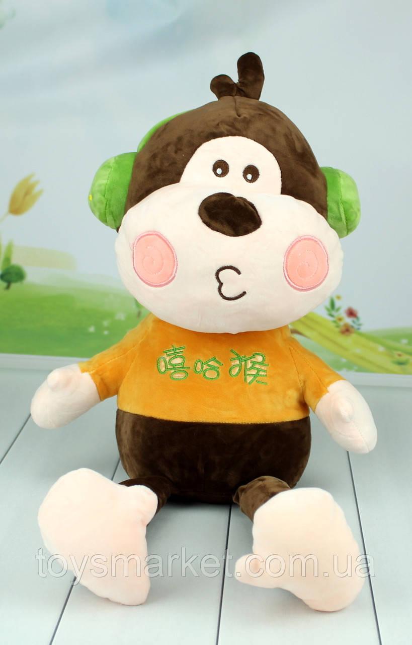 М'яка іграшка Мавпочка, плюшева мавпа, 60 див.