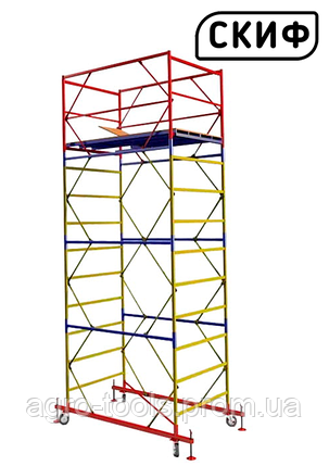 Вышка тура СКИФ Standart 1.2×2.0 1+3 4,2 м, фото 2