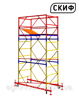 Вышка тура СКИФ 1.2×2.0 1+2 3м LIGHT, фото 2