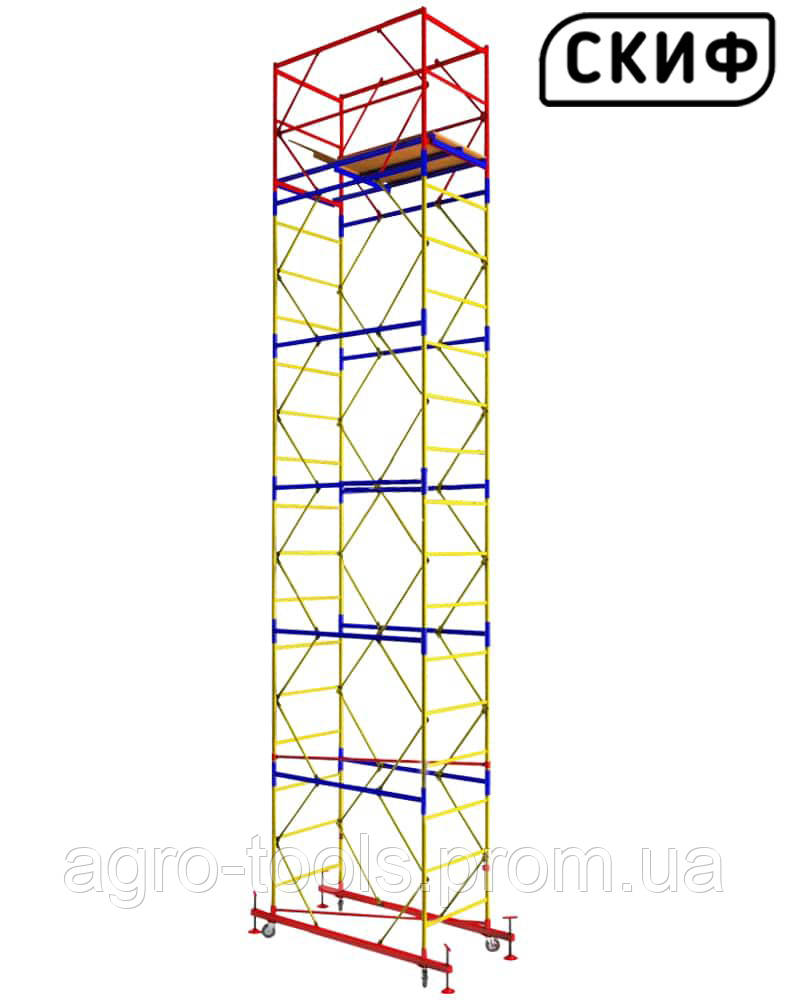 Вышка тура СКИФ 1.2×2.0 1+5 6,6м LIGHT