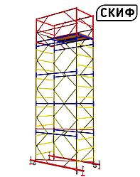 Вышка СКИФ 0,8×1,6 1+4 5,4 м PROFESSIONAL