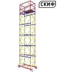 Вышка тура СКИФ 0,8×1,6 1+5 6,6м PROFESSIONAL