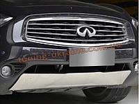 Накладка на бампер передняя Infiniti QX70 FX