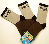 Мальчиковые теплые носки с махрой внутри разноцветные