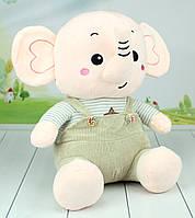 Мягкая игрушка слон, плюшевый слоник, 45 см., фото 1