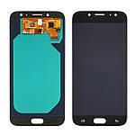 Дисплейний модуль (екран) для Samsung J730 Galaxy J7 (2017) з чорним тачскріном OLED