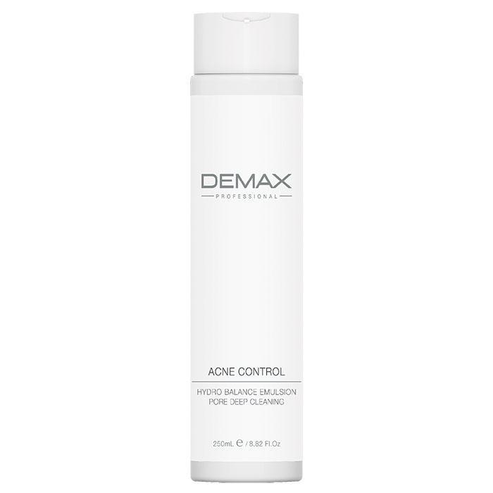 Молочко для лечения демодекса и акне Demax Acne Control Hydro Balance Emulsion Pore Deep Cleaning