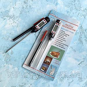 Термометр кондитерський, кухонний градусник 19 см / Термометр кондитерский, кухонный термометр 19 см