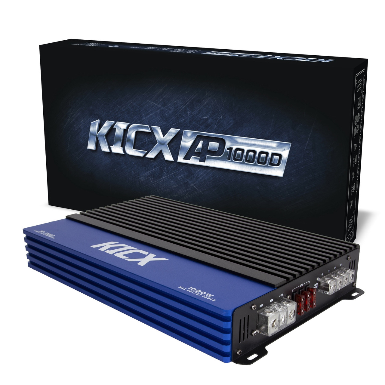 СКИДКА 500грн! Автомобильный усилитель Kicx AP 1000D 1-канальный