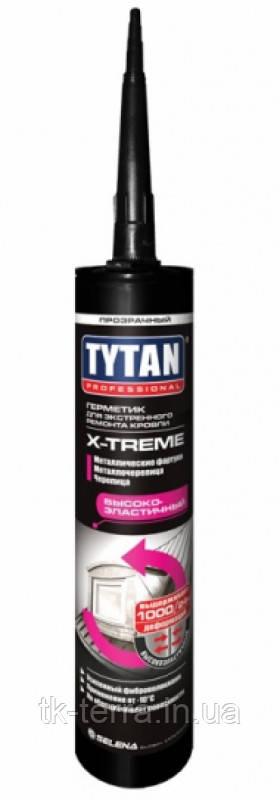 Герметик ремонтный Tytan X-treme -10C (310 ml.) прозрачный