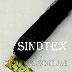 18м. Регилин (кринолин) 20мм (01-черный) (1-2118-Е-54)
