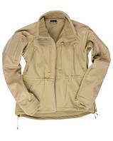 Тактическая куртка Softshell Jacket MT-Plus Sturm Mil-tec песок