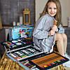 Набор для рисования и творчества детский в чемодане Единорог 145 предметов