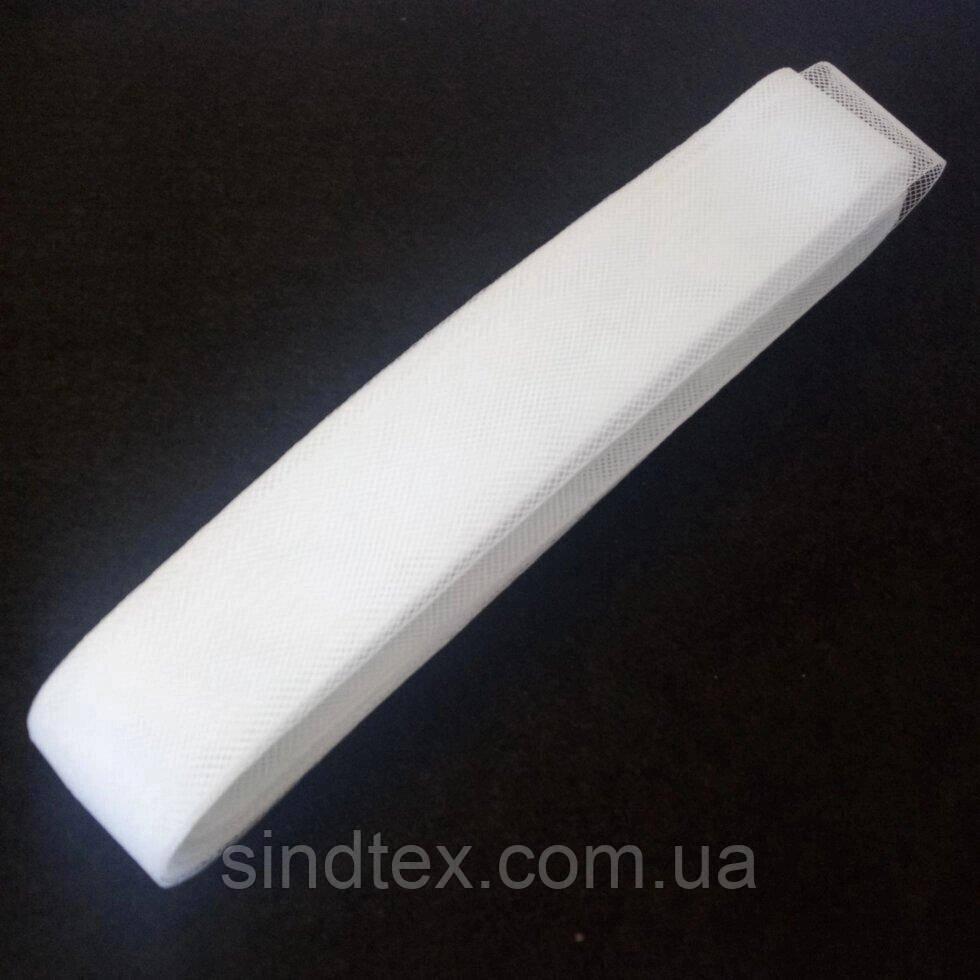23м. Жорсткий регилин (крінолін) 50мм білий (1-2118-Е-07)