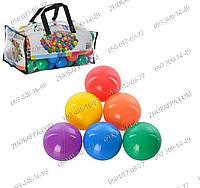 Набор мячиков Intex 49602,Набор цветных мячей для игровых центров,бассейнов,мячики Fun Ballz,Сухие бассейны