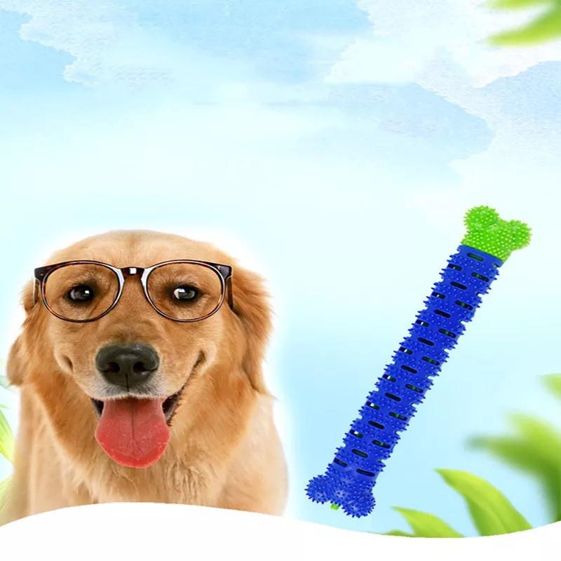 Самоочищающаяся резиновая собачья кость для зубов, для чистки десен Chewbrush