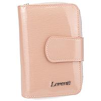 Жіночий шкіряний гаманець рожевий Lorenti 76115-SH pink