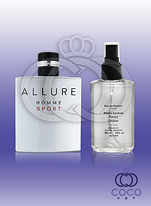 Чоловічий парфум аналог Chanel Allure Home Sport 65 Ml