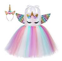 Карнавальна сукня Поні єдиноріг My Little Pony Rainbow Dash Веселка р. 120, 130