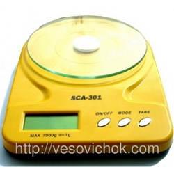 Кухонні ваги без чаші SCA 301