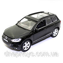 Машинка металева Volkswagen «Автосвіт» Фольксваген джип чорний, світло, звук, 14*5*6 см (AS-2716), фото 2