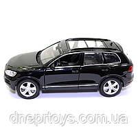 Машинка металева Volkswagen «Автосвіт» Фольксваген джип чорний, світло, звук, 14*5*6 см (AS-2716), фото 3